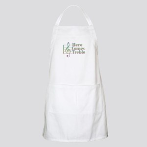 Here Comes Treble Rainbow Light Apron
